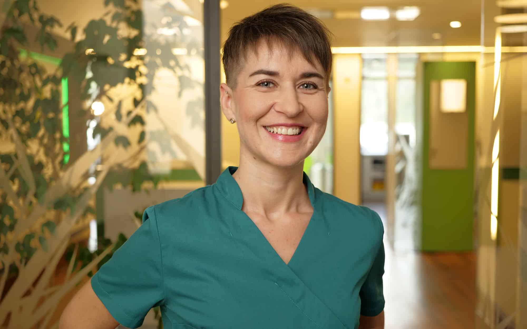 Lena Dietrich - Zahnmedizinische Fachangestellte in der Zahnarztpraxis Dr. Wolfgang Gottwald in Koblenz