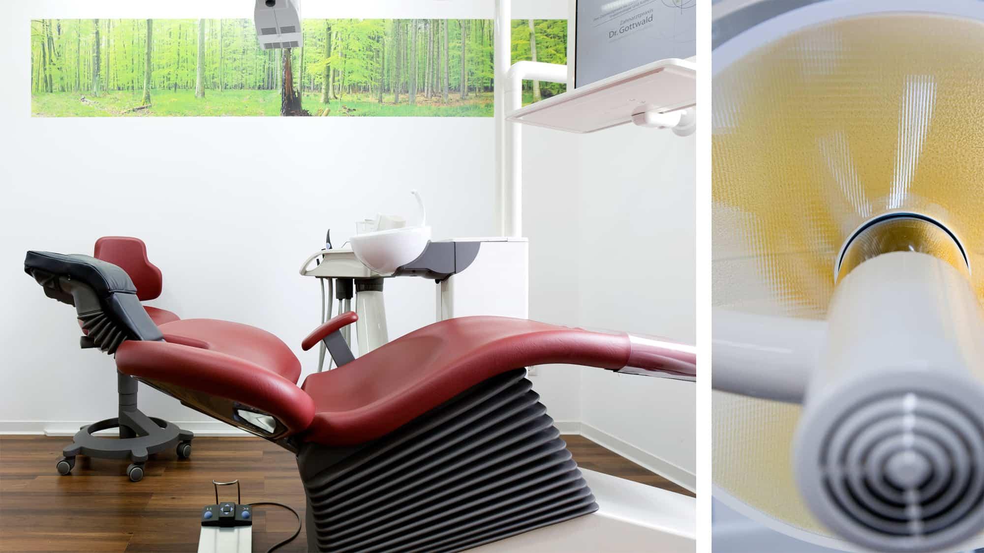 Praxisrundgang Zahnarztpraxis Dr. Gottwald in Koblenz - Behandlungszimmer 3 unserer Zahnarztpraxis Dr. Gottwald in Koblenz